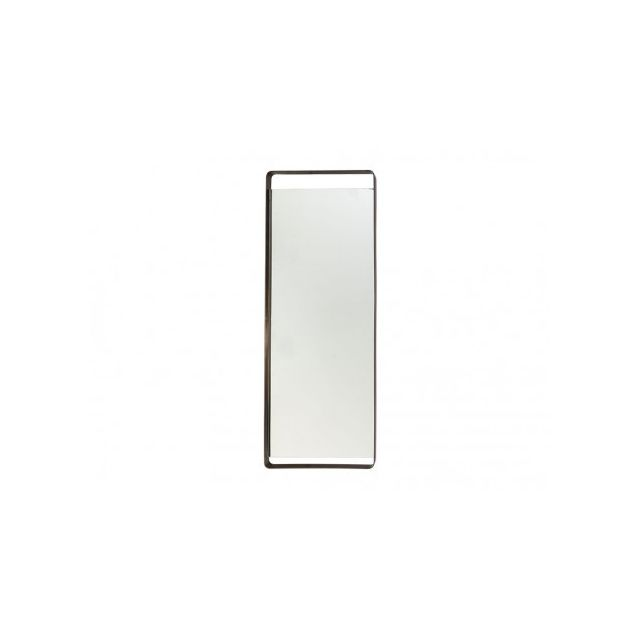 Marque Generique Miroir psyché industriel Zakary - L61 x H168 cm - Métal - Argent