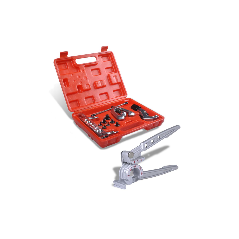 Rocambolesk - Superbe Boîte à outils avec une pince à cintrer Neuf