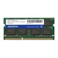 Adata - Premier Series - Ddr3 - 2 Go - So Dimm 204 broches - 1333 Mhz Pc3-10600 - Cl9 - 1.5 V - mémoire sans tampon - Non Ecc