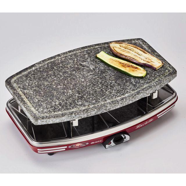 ariete appareil raclette 8 personnes 1200w avec pierre griller 794 achat raclette cr pi re. Black Bedroom Furniture Sets. Home Design Ideas
