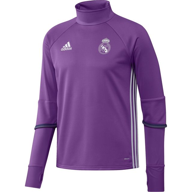 Adidas - Training top Real Madrid 2016 2017 - pas cher Achat   Vente ... cb4be86e6a031