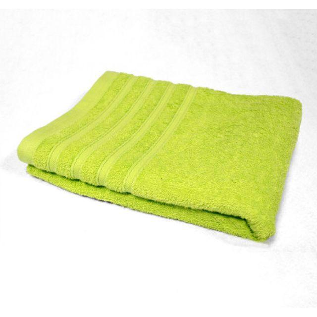 Douceur D'INTERIEUR Serviette de toilette 50 x 90 cm vert