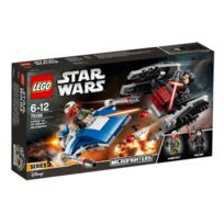 Lego - Star Wars - 75196-® Microfighter A-Wing vs. Silencer TIE