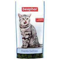 Beaphar - Friandises Dents Saines à la Chrolophylle pour Chat - 35g
