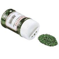 Oz International - paillette scintillante vert - pot de 50g