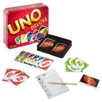 Mattel - Jeux - Uno de luxe