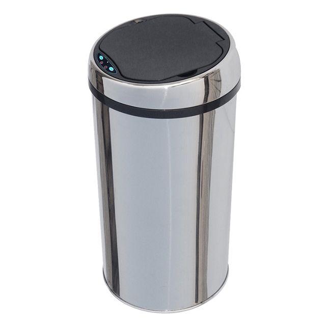 kitchen move poubelle automatique 12l inox bat 12la pas cher achat vente poubelle de. Black Bedroom Furniture Sets. Home Design Ideas