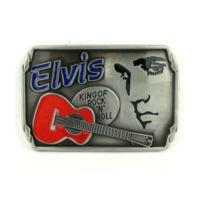 Boucle de ceinture elvis presley alu rect king rock roll. UNIVERSEL ... e9702c8864f
