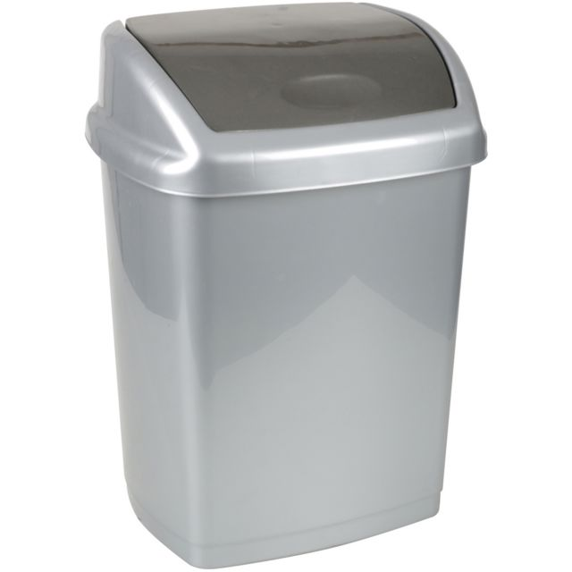 Promobo poubelle de salle de bain cuisine design swing Achat poubelle cuisine