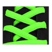 Neon - Lacets sport ovale 125cm haute qualité vert fluo