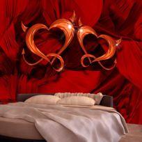 Bimago - Makossa-a1-XXLNEW011283 - Papier peint - Two hearts 350x245