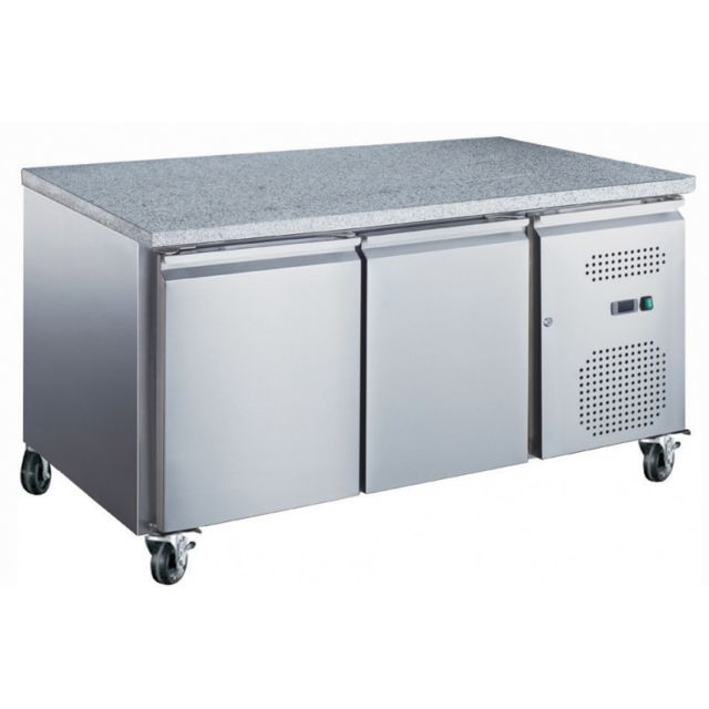 Materiel Chr Pro Table Réfrigérée Pâtissière Positive Marbre - 600 x 400 - Afi Collin Lucy - 1510 mm 800