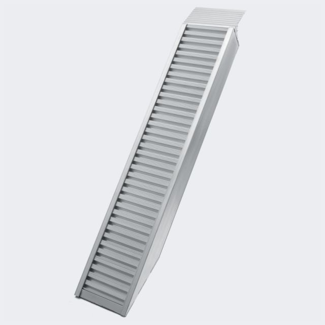 helloshop26 rampe de chargement multi usage pliante aluminium rail collision 161 cm jusqu 39 a. Black Bedroom Furniture Sets. Home Design Ideas