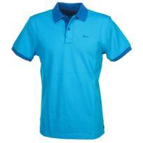 Blend - Polo manches courtes Hugo vivid blue mc polo Bleu 52948