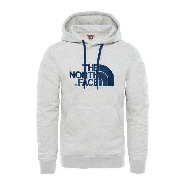 3c1faa646dfce The north face - Sweat-shirt à capuche Drew Peak Pullover Hood Blanc - XS - pas  cher Achat   Vente Sweat homme - RueDuCommerce
