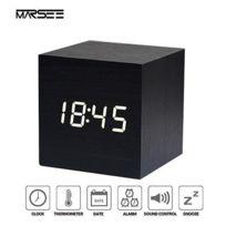 Vocale Réveil Voyage Horloge Matin Ou Usb Digital Par Avec gYb6yv7f
