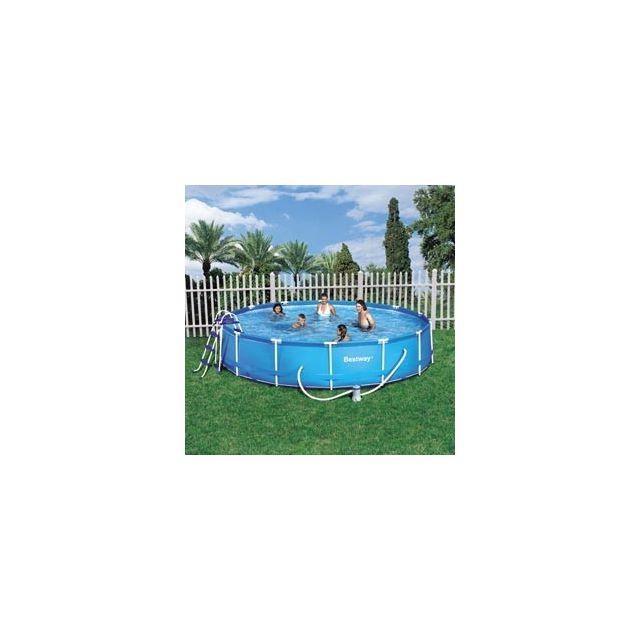piscine hors sol ovale Héric