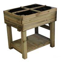 Cemonjardin - Potager sur pied en bois