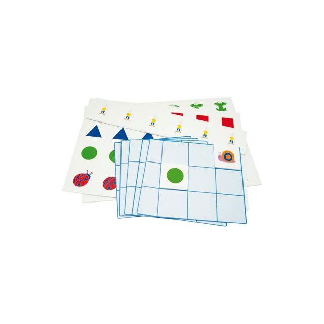 logikid - apprentissage au sudoku - jeu magnétique