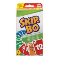 Mattel - Jeu de cartes - Skip Bo - 52370