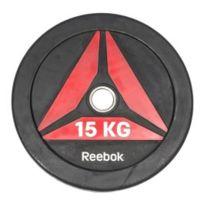 Reebok Fitness - Disque olympique Reebok Bumper Plate 15 kg