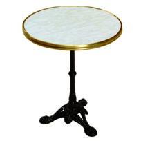 Lekingstore - Table Bistro Original 2 Personnes 60 x 60 x 71 cm Décor Marbre de Genes
