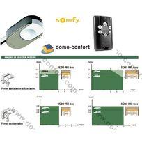 Somfy - Motorisation porte de garage '' Dexxo Pro 1000 io moteur seul+ télécommande