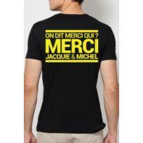 Dorcel - T-shirt Jacquie & Michel Noir et Jaune