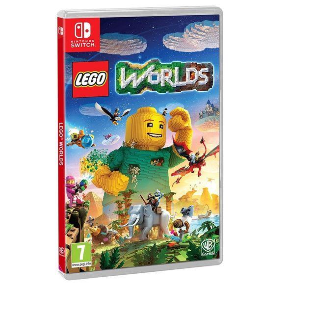 WARNER - Jeu SWITCH LEGO WORLDS
