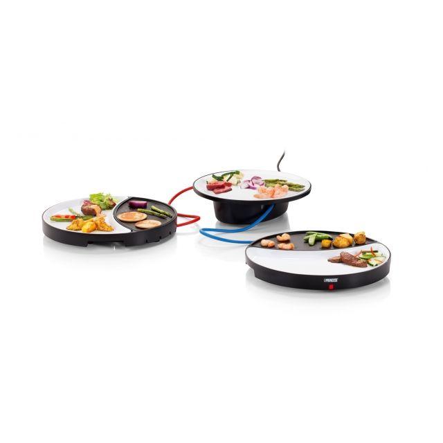 Princess Plancha Gourmet - Plaque de cuisson individuelle - Grill pour 2 personnes