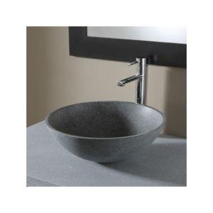 soldes planetebain vasque poser bol en pierre naturelle pas cher achat vente vasque. Black Bedroom Furniture Sets. Home Design Ideas