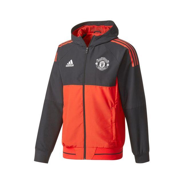 Rougenoir Veste Performance Adidas Présentation United Manchester 1X8wngH