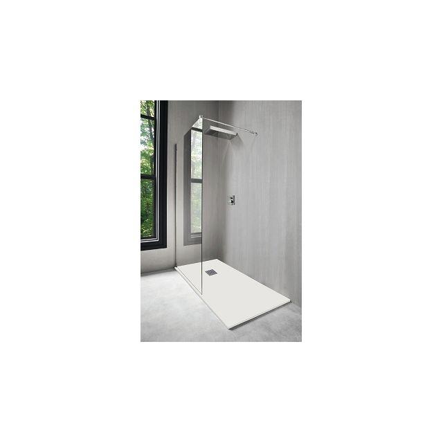 aqua receveur de douche nola blanc 160x90 cm pas cher achat vente receveur de douche. Black Bedroom Furniture Sets. Home Design Ideas