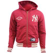différemment ff510 fc50d DEERING NEW YORK YANKEE HOODIE Veste Major League Baseball Homme