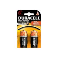 MKT - Pack de 2 Piles Duracell Plus Power MN1400/LR14 Baby C