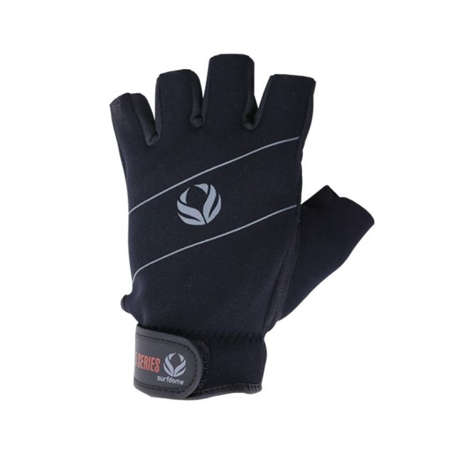 0ae1732bfd880 Gant Mitaine Noir Surfdome 1.5MM Amara Glove Fingerless Paddle Homme  Quicksilver Noir Xs