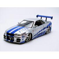 Jada Toys - Nissan Skyline Gtr R34 - Fast And Furious - 1/24 - 97158S