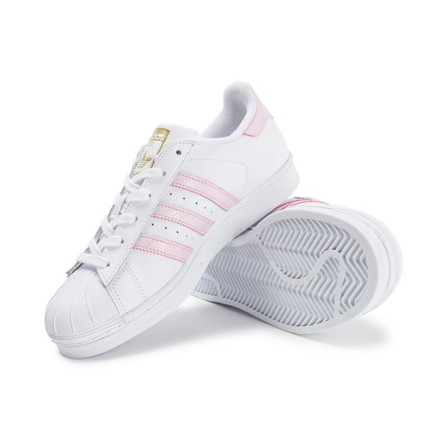 Adidas originals - Superstar Blanche Et Rose