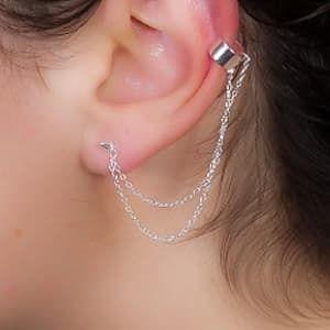 boucle d'oreille en pique