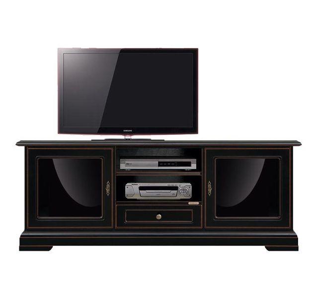 Arteferretto Meuble Tv noir design exclusif