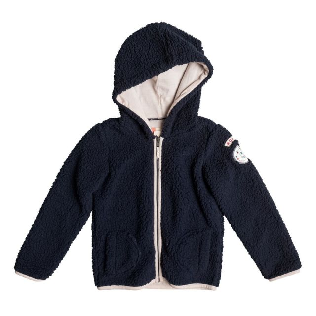 Roxy Hit The Sack Sweat Zip Capuche Fille Taille 6 ans