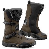 Falco - bottes moto route & tout terrain 412 Mixto 2 Adv d3o étanche marron T 45 Fr