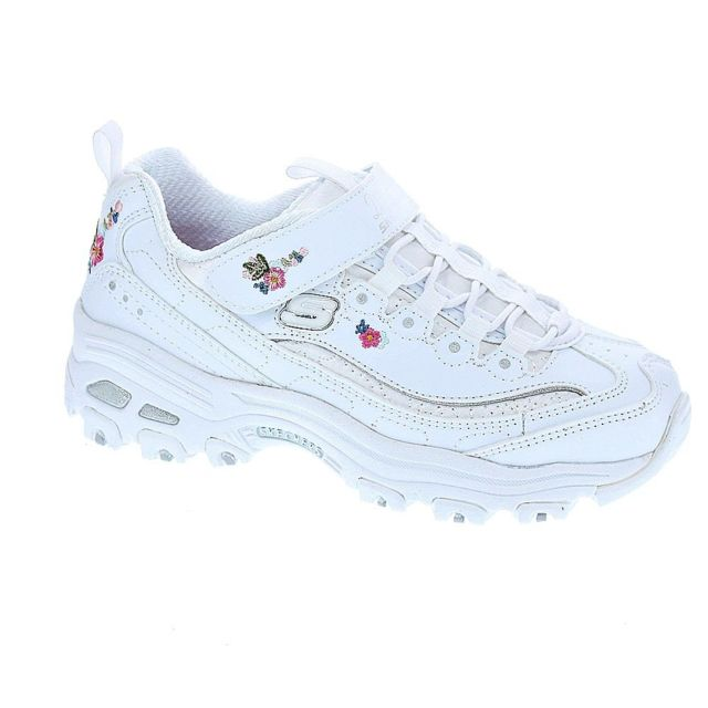 Skechers Chaussures Fille Baskets modele D Lites pas