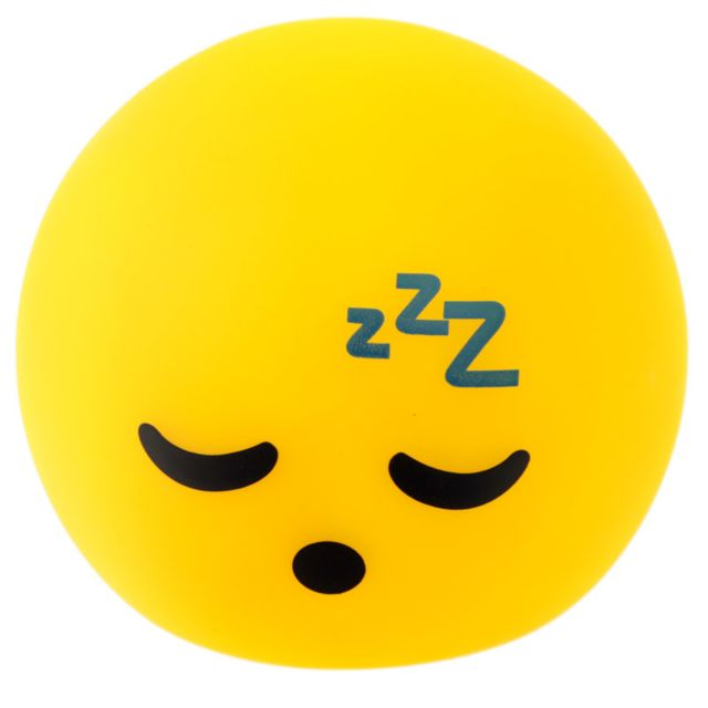 Lampe ou Veilleuse Emoji dormeur Led
