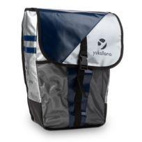 Yukatana - Yuka Sacoche porte-bagages imperméable 14 litres - métallique/bleu