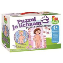 Jumbo - Playlab My Body 2 In 1 Puzzle
