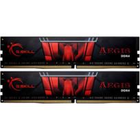 Aegis Gaming Series 8 Go 2 x 4 Go DDR4 2400 Mhz Cas 15