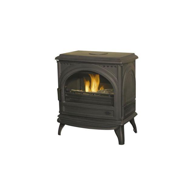 godin poele bois seclin 6 anthracite 7kw buche57 pas cher achat vente po les bois. Black Bedroom Furniture Sets. Home Design Ideas