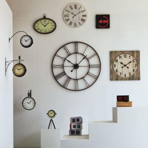 alin a led horloge murale pas cher achat vente horloges pendules rueducommerce. Black Bedroom Furniture Sets. Home Design Ideas