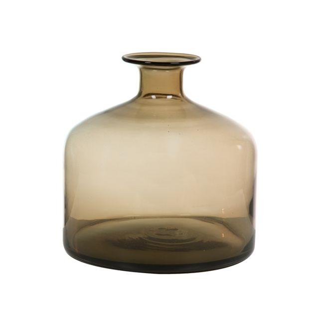 Wechic Vase en verre gris